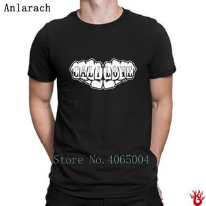 Cali Love Letter punch T-shirts manches courtes T-shirt Hiphop pour les hommes Printemps Automne Anti-rides Casual Taille Euro S-3XL Vêtements