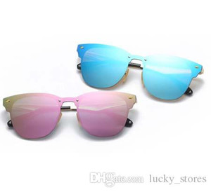 Fashion Men Women Blaze Sunglasses Brand Designer Sun Glasses for Ladies Eyewear UV400 Club Mirrored Master with cases