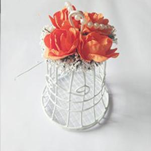 Estilo da festa de casamento New Bird Cage metal Candy Caixa Titular presente de mesa decorativa
