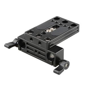 어깨 지원 의장 C2109의 경우 15mm 듀얼로드 클램프와 CAMVATE 카메라베이스 플레이트 통합