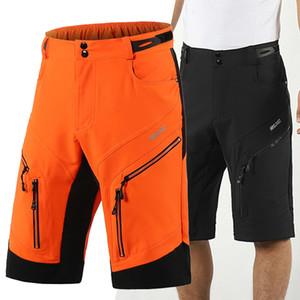 ARSUXEO DH Descente Cycle Short Loose Fit Sports de plein air VTT Hommes VTT Shorts Vélo Pantalons courts Vélo