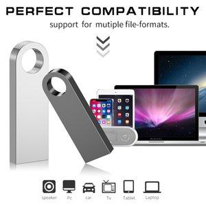 Metal Pen Drive 3,0 PenDrive 32 GB 16 GB 8 GB 4 GB de alta velocidad Usb Flash Drive 128 GB clave usb Stick 64 GB de memoria Flash Usb Flash disco