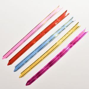 Pull Bow Ribbons 50pcs / lot Envoltura de regalos Feliz año nuevo Suministros de fiesta de cumpleaños de boda Decoración del hogar DIY Pull Flower Ribbons