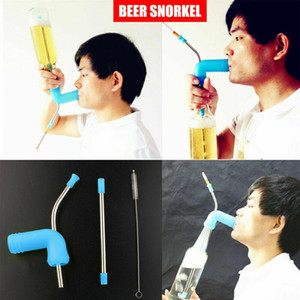 New Beer Snorkel Funnel Drinking Straw Games Hens Bucks Party Entertainment Bar