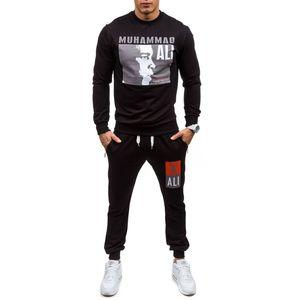Sweat à capuche de concepteur pour hommes blanc manteau de survêtement pull vestes costumes champion de boxe impression pull Wei pantalon de sport