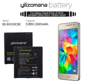 YILIZOMANA Phone Battery EB-BG530CBE for Samsung Galaxy Grand Prime J3 2016 G530 G531F G530H G530F 2600mAh