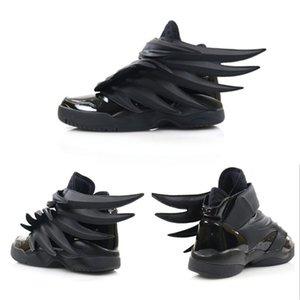 2019 роскошный дизайнер Jeremy x Original Wings 3.0 тройные черные кроссовки женская мужская мода Повседневная обувь винтажная личность обувь для мальчиков и девочек