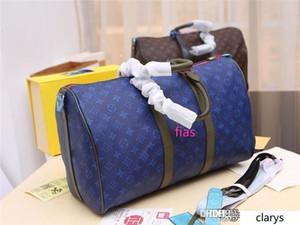 NO.1LouisVuitt New 1Monograms Keepall 45 M43858 M43412 Damier Graphite рук сумка size45 * 20,5 * 26см