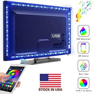 LED Strip Lights, LitSoul RGB Accent Lighting Sync to Music, App Control, 9.8ft RGB Bias Light for TV, Bed Room Decor, USB Powered