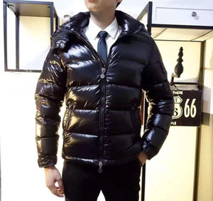 Moda-França Clássico das mulheres Dos Homens Casuais Para Baixo Casaco mayaDown Casacos de Inverno Dos Homens Ao Ar Livre Quente homem Vestido de penas Casaco jaquetas outwear