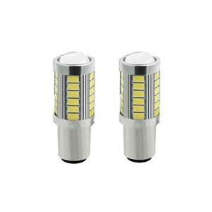 2pcs 1156 BAU15S PY21W 7507 LED Bulbs For Cars Turn Signal Lights Amber Orange Lighting White Red Blue 5630 33SMD yellow white1P