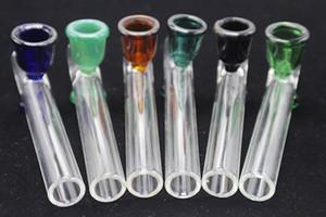 LABS Steamrollers Pipe en verre à la main Hookah Pipes verre fumeurs cuillère à tabac Pipes Dab Rig barboteur pipe en verre d'herbe sèche avec un bol de fumer