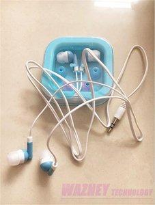Schokoladen-Stern-Süßigkeit In-Ohr Kopfhörer für reizendes nettes Special MP3-Player earbud für smartphone MP4 500pcs / lot