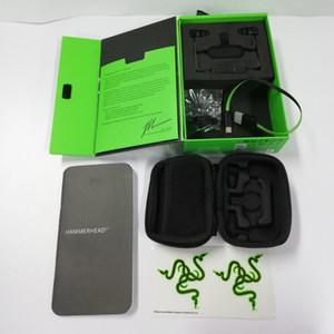 2019 Razer Hammerhead BT RZ04 Casque sans fil Bluetooth Écouteurs Bluetooth avec boîte scellée au détail Navire gratuit