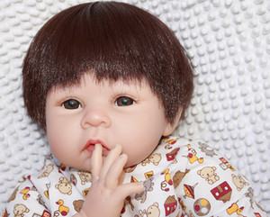 Carattere individuale regalo di festival Reborn Doll giocattolo del bambino del silicone artificiale bambino non Sex-Doll Infermieristica Training