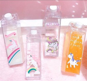 Flamingo Unicorn Coffee Groot Milk Bottle Ragazza carina Acqua Bottlle My Drinking Container Free For Kid School