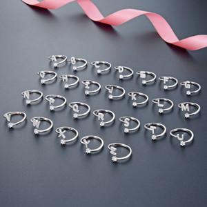S925 Sterlingsilber-Ring für Frauen Art und Weise DIY Sweet Little Fragrance Ring mit 26 Buchstaben
