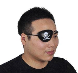 3 Stile Hot Pirate Eye Patch Halloween Masquerade Pirate Accessori Ciclope Eye Patch Occhio pigro Amblyopia Skull EyePatch c268