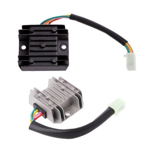heap Voltage Regulators 4 Wires 12V Voltage Regulator Rectifier for Motorcycle Boat Motor Mercury ATV GY6 50 150cc Scooter Moped JCL NST ...