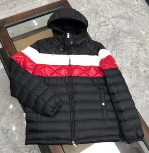 Top quality Newest Winter Mens Parkas Highly Quality Down Jacket With Letters Mens Jackets Coat men Tops Clothing Wholesale