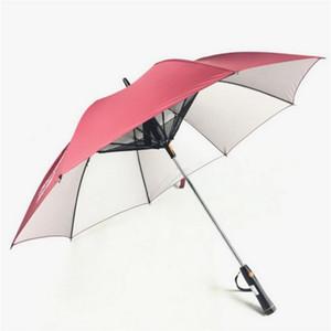 Fan útil elétrica Umbrella Cut UV dupla utilização Pára-Fan guarda-chuva de verão ao ar livre deve ter Fan Umbrella Breeze