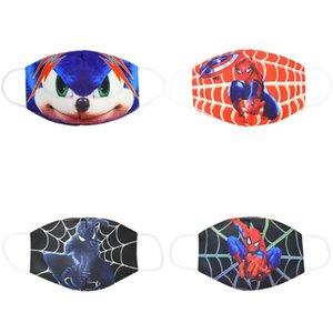 tissu cubreboca costumes pour enfants masque enfants jeunes dessin animé masque visage bouche coton masques pour cubrebocas bomull kid fClwC