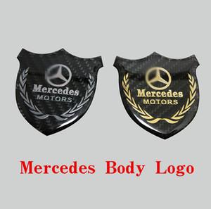 Mercedes-B Body Sign, Carbon Fiber Sign C Class E C200L Back Window and Leaf Board Side Sign Angel Wing Star Sign C Column Label