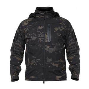 Shanghai Story Tactical Men Autumn Jackets Windbreaker Hooded Waterproof For man Coats