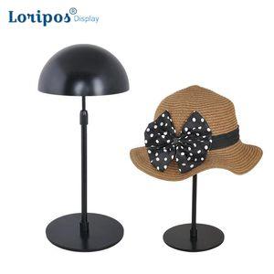 Accessoires pour vêtements Accessoires pour écrans Haut de gamme Support de support de support de chapeau Support pour exposition Chapeau de perruque Présentoir de table de perruque