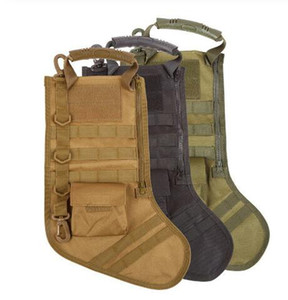 Pendurado Tactical Molle meia do Natal Bolsa Dump Gota Pouch Utility Storage Bag Combate Caça Revista Pouches