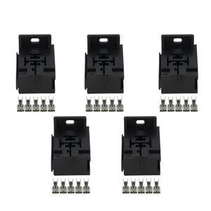 5 Imposta 5 pin femmina Auto Relay Socket 6.3 connettori automobilistici Electric Wire Plastica connettore auto-DJJ7054Y 6,3-21