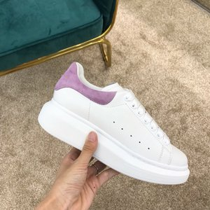 New Season Designer Shoe Fashion Luxury Women Shoes women Leather Lace Up Platform Oversized Sole Sneakers White Black Casual Shoes With Box