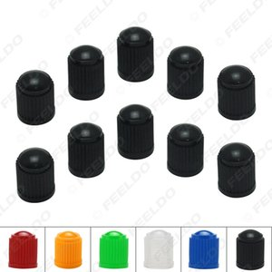 10pcs lot Universal 6-Color Plastic Car Valve Caps Bicycle Motorcycle Wheel Tyre Air Valve Stem Caps#3875