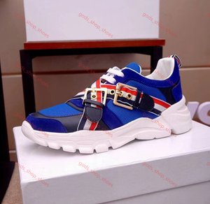2020 New High Quality B22 Men's Canvas And Calfskin Trainers Running Shoes Fashion Women Sneakers French Designer B23 xshfbcl Casual Shoes