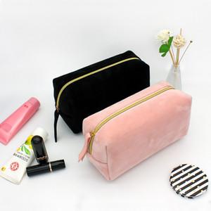 Peluş Pembe Makyaj Lady Seyahat Yıkama Çantası Saklama Torbası Güzellik Kutusu Kozmetik Çamaşır Essentials Dişil