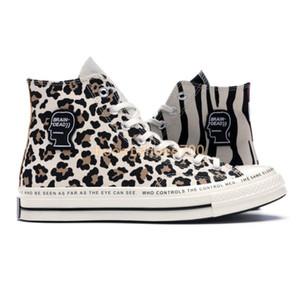 Новый 1970-х годов Привет Мозг Мертвые Дизайнерская Обувь Мужчины Женщины Холст Повседневная Обувь Одна Звезда Ох Мозг Мертвых Спортивные Кроссовки Размер 35-44