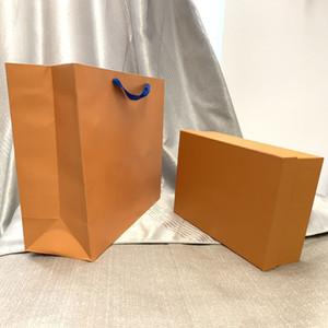 Designer Borsa di design originale Scatole regalo Borse di lusso Borse a spalla Borse a spalla Accessori per parti Scatola e sacchetti regalo