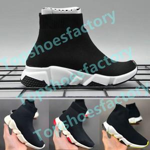Balenciaga Kid Sock shoes Luxury Brand Кроссовки Повседневная обувь для бега мальчиков Повседневная обувь Открытый Anti-Скользкий Sneaker 24-36