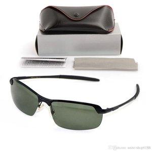 Новый поляризованных мужские солнцезащитные очки 3043 бренд дизайнер Sun glassess металла женские очки дизайнер солнцезащитные очки с оригинальной коробке случаях