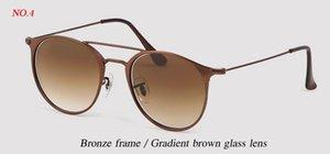 Wholesale-brand new designer fashion 3546 METAL Sunglasses Women Female Sun Glasses For Driving Ladies Luxury UV400 metal gradient gafas