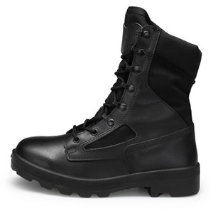 ENLENBENNA hiver Bottes Militaires Hommes Haute Qualité Hommes Désert Tactique Combat Bottes Armée Chaussures De Travail En Cuir Bottes De Neige Hommes