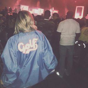 20ss Andy Style GOLFWANG Blu Script Varsity Jcket Blu Jacket Moda manica corta da uomo e le donne di alta qualità coppia GIACCA HFWPJK174
