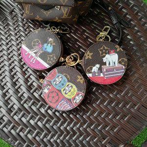 Moda pu cuero amor pájaro llaveros aleación llavero joyería animal para mujeres niñas bolsa coche encantos regalo mascota SE22