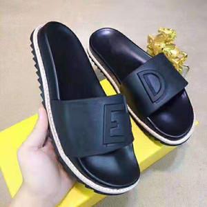 sandalias de diseñador-ed causales huaraches verano antideslizantes zapatillas chanclas zapatilla MEJOR CALIDAD