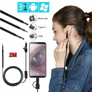 3 em 1 Ear USB Limpeza endoscópio Earpick Com Mini Camera HD Earwax Removal