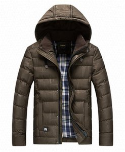 Padded Coats Casual Males Clothing Dark Grain Mens Designer Cotton Padded Jackets Fashion Stripe Panelled Mens Cotton