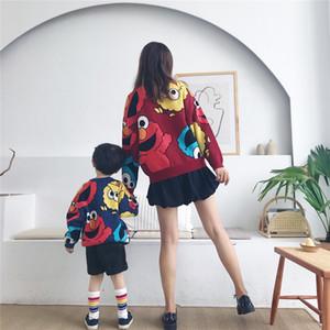 Tonytaobaby Otoño Invierno nueva ropa para niños Parents'and ropa para niños estilo europeo y americano niños