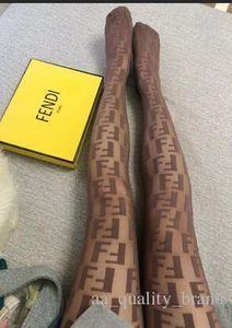 marque 2018Hot marque F lettre collants femme noir serré sex-appeal en jacquard salopette dentelle sexy