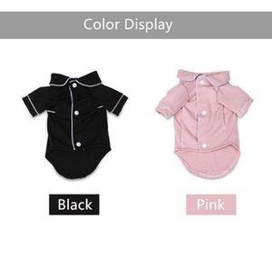 Dog Apparel Coat Pet Dog Clothes Pajamas Black Pink Black puppy clothes Poodle Bichon Teddy Clothes Christmas Cotton Boy Bulldog Shirts