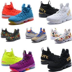 cheap Ashes Ghost lebron 15 Basketball Shoes Lebrons shoes Sneakers 15s Mens James sports new Shoes wholesale